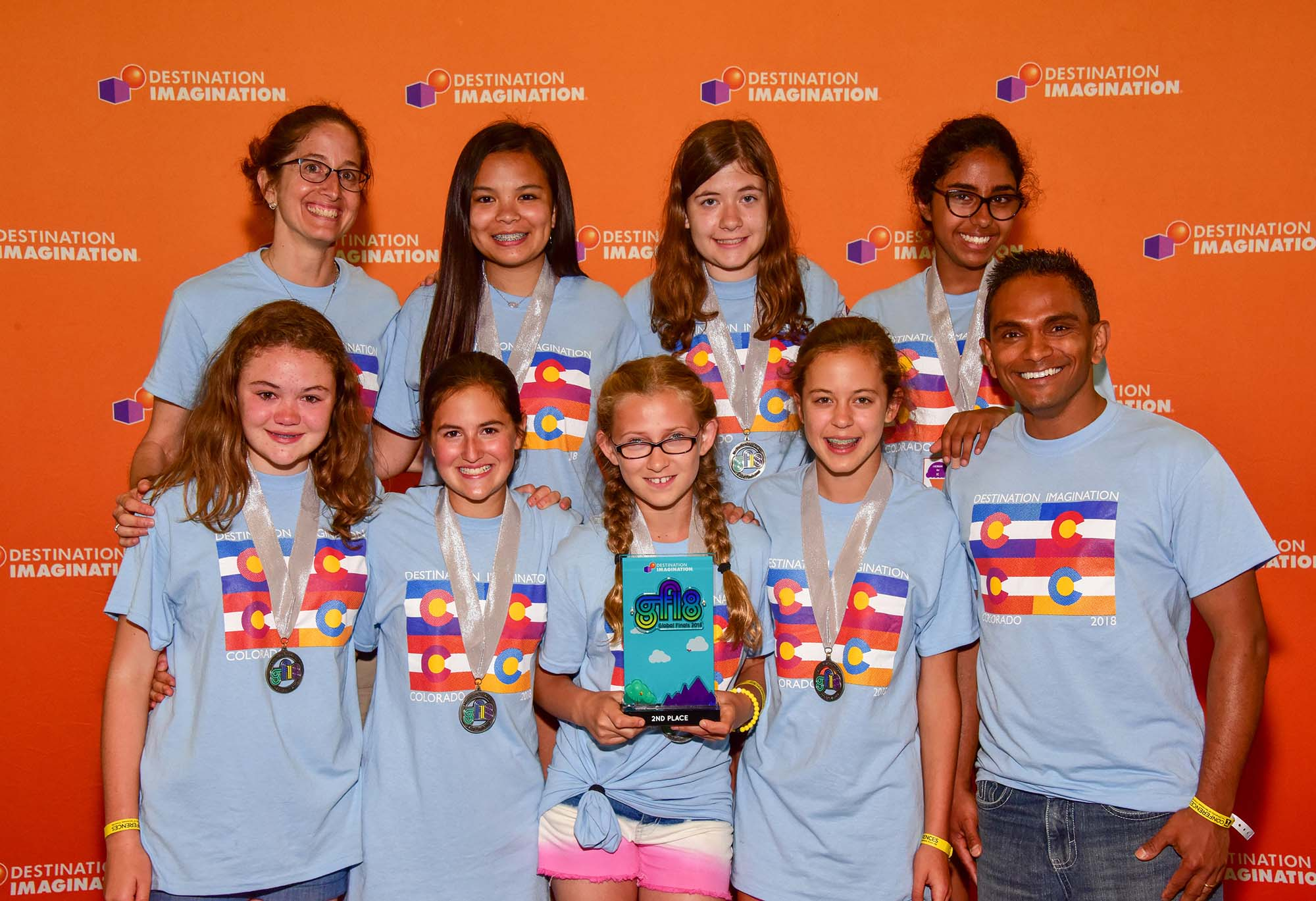 St. Mary's Academy Destination Imagination Team Takes 2nd Place at DI Global Finals