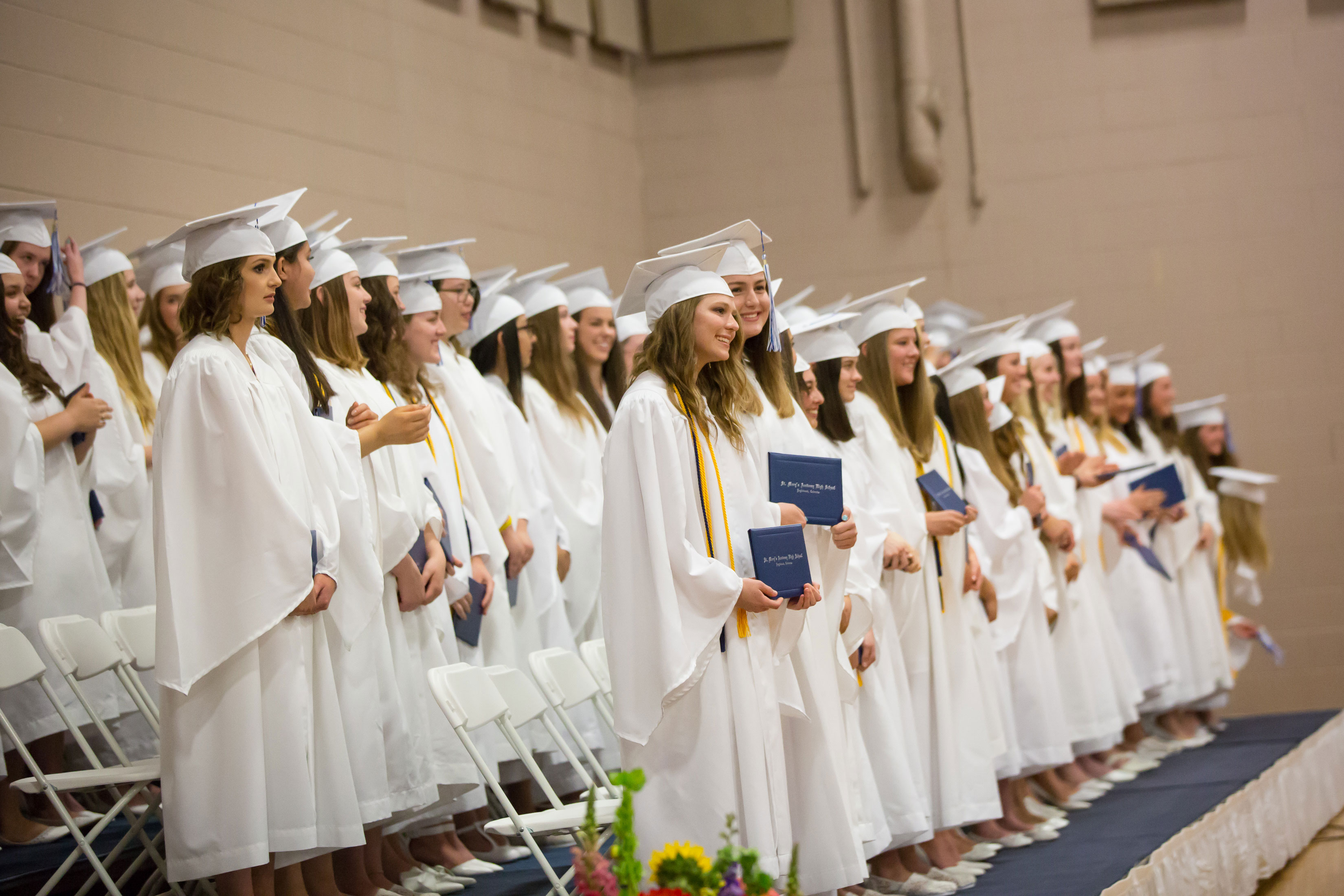 St. Mary's Academy Graduates the Class of 2018